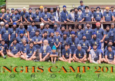 Toronto Singhs Camp