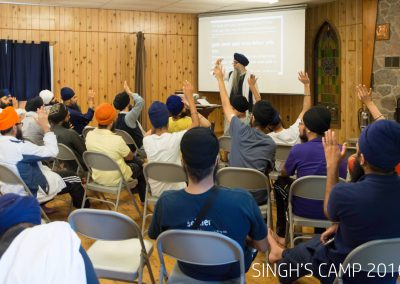 Singhs Camp Workshop